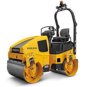 12 Tonne Compaction Roller – Volvo DD25B for hire or sale - Hireco Plant and Tool - www.hirecopt.ie