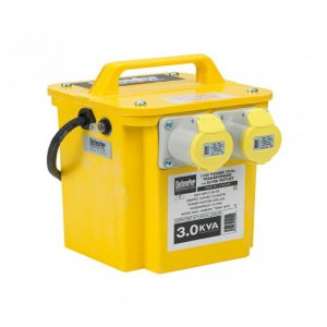 3kVA Transformer for hire or sale - Hireco Plant and Tool - www.hirecopt.ie