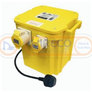 5kVA Transformer for hire or sale - Hireco Plant and Tool - www.hirecopt.ie