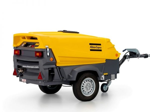 Tow Behind Compressor for Hire or Sale - Hireco Plant and Tool - www.hirecopt.ie