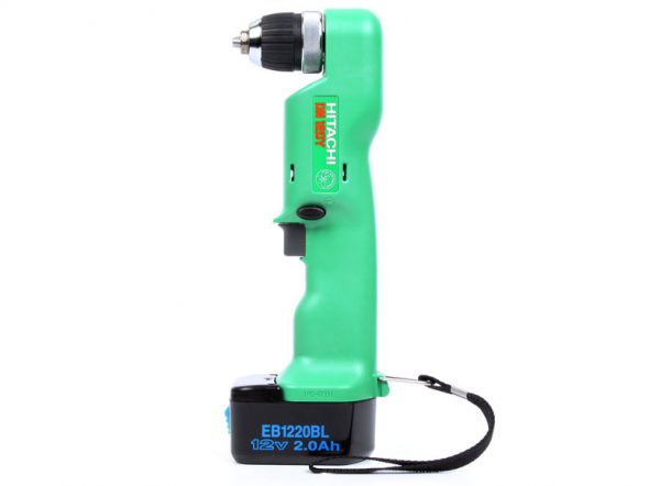 Hitachi 12V Angle Drill for hire or sale - Hireco Plant and Tool - www.hirecopt.ie