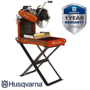 """Husqvarna Porta 14"""" Brick Saw with Stand for Hire or Sale - Hireco Plant and Tool - www.hirecopt.ie"""