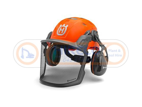Husqvarna-Technical-Helmet for Sale - Hireco Plant and Tool - www.hirecopt.ie