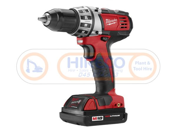 Milwaukee-Compact-Drill for Hire or Sale - Hireco Plant and Tool - www.hirecopt.ie