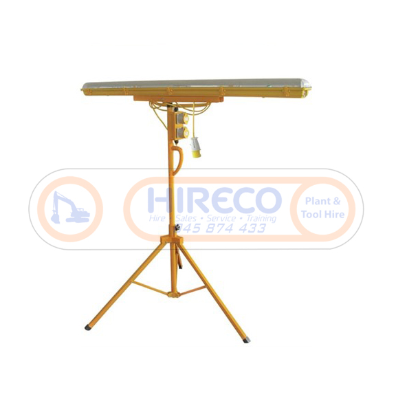 Plasterer Tripod Light for Hire or Sale - Hireco Plant and Tool - www.hirecopt.ie