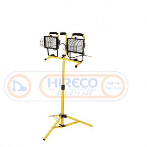 Portable Work Light for Hire or Sale - Hireco Plant and Tool - www.hirecopt.ie