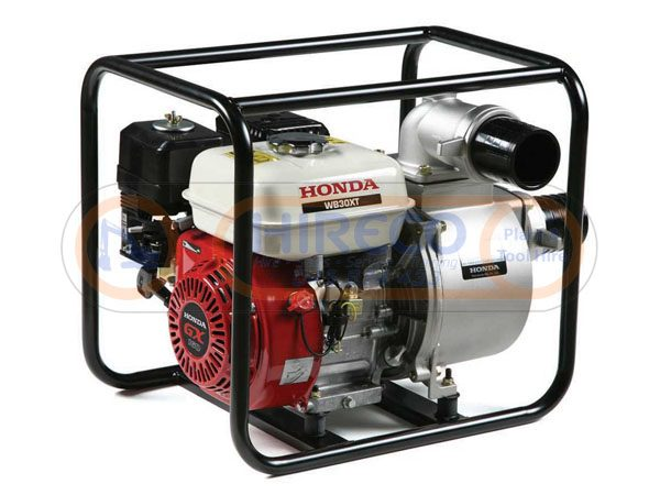 """three inch petrol water pump 600x450 - Honda 3"""" Petrol Water Pump"""